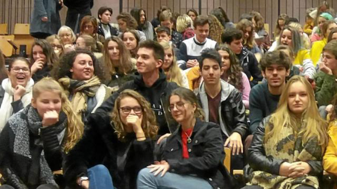 Les élèves vannetais au Goncourt des lycéens
