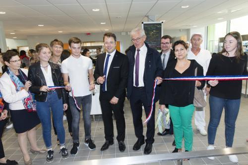 Inauguration du nouveau self du lycée CHARLES DE GAULLE