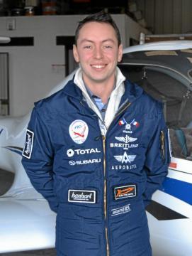 Bastien Le Roux, un exemple pour l'Aéroclub
