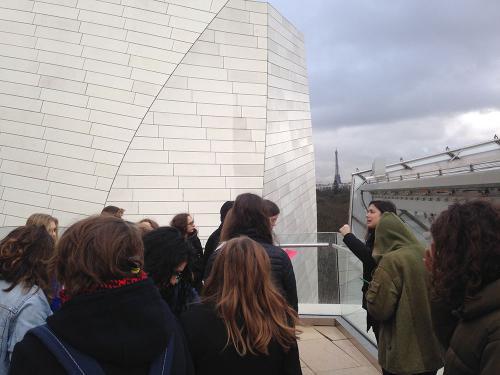 Voyage culturel à Paris - Arts plastiques - copyright Lycée Charles de Gaulle Vannes