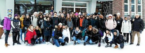 31 élèves de la section européenne du lycée Charles-de-Gaulle ont passé une semaine chez leurs correspondants finlandais.