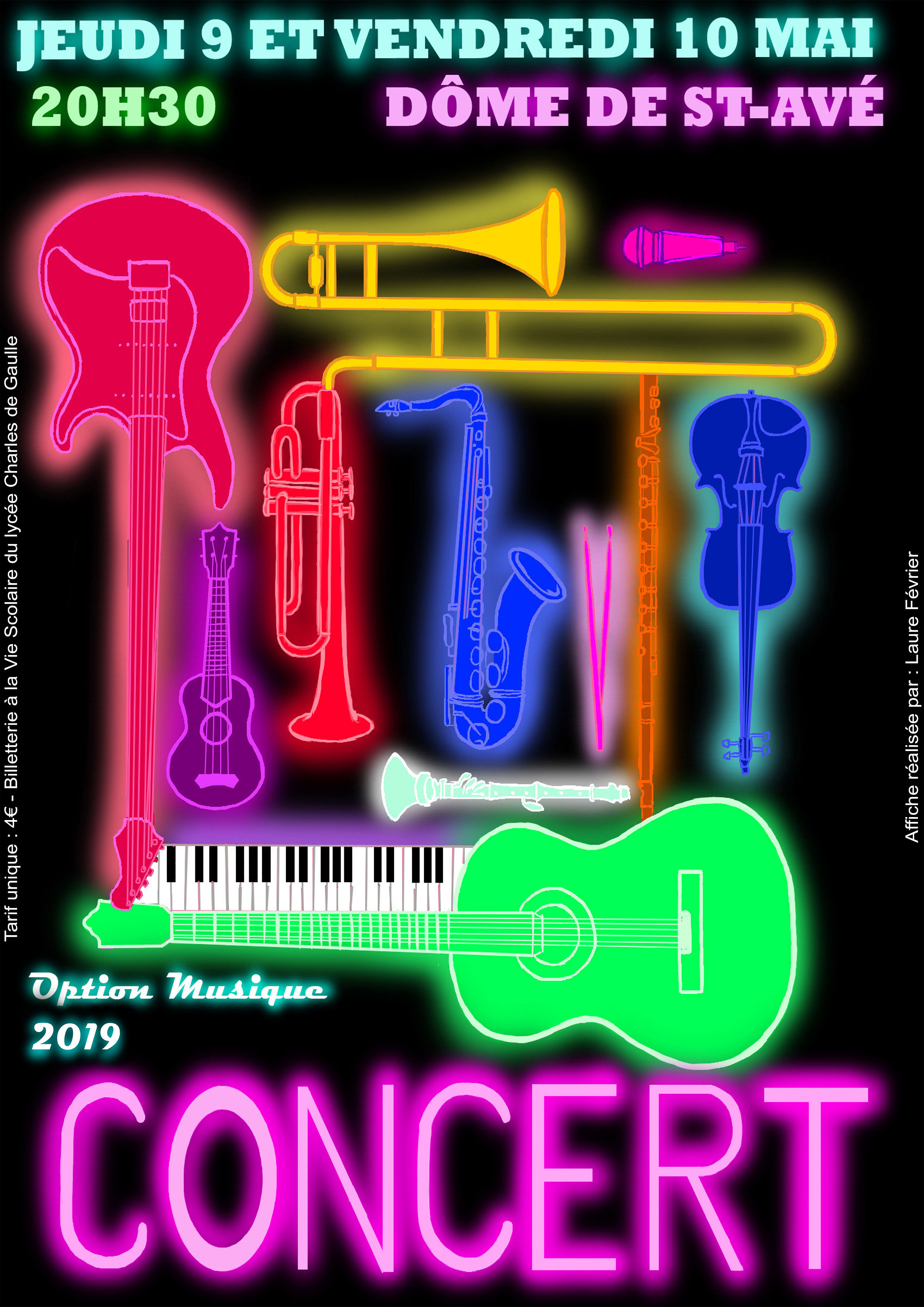 concert affiche