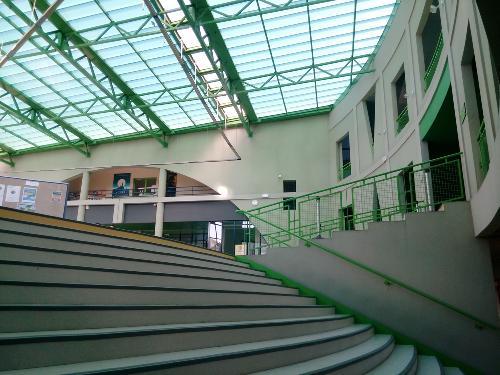 Escalier du forum bas