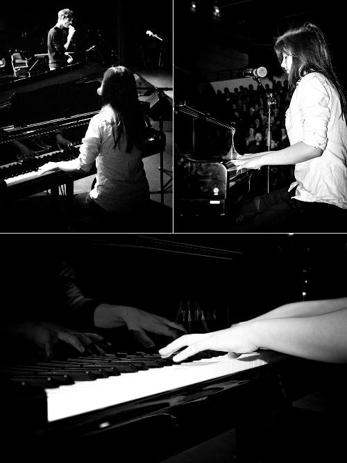 Romane, pianiste