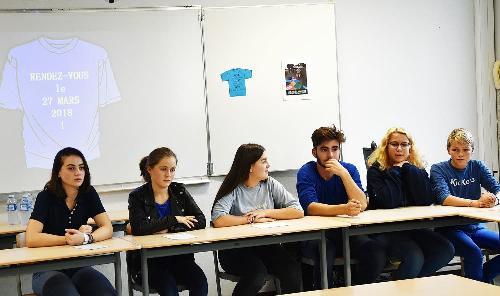 Les lycéens du lycée Charles de Gaulle ambassadeurs contre le harcèlement
